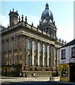 SE2933 : Leeds Town Hall, rear view by Alan Murray-Rust