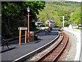 SH6541 : Tan-y-bwlch Station by John Lucas