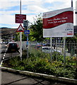ST0291 : Porth Park and Ride sign  by Jaggery