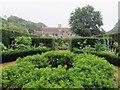 SZ4083 : A garden at Mottistone Manor by Steve Daniels