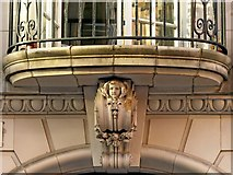 SE2933 : Scottish Union and National Insurance Company building, Park Row, balcony detail by Alan Murray-Rust