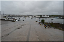 SX4853 : Slipway, Plymouth Yacht Haven by N Chadwick