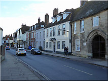 SU1429 : Crane Street, Salisbury by Robin Webster