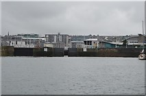 SX4854 : Sutton Harbour Lock by N Chadwick