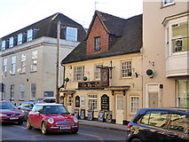 SU1429 : The Wig and Quill, New Street, Salisbury by Robin Webster
