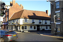 SU1429 : The Cloisters pub, Salisbury by Robin Webster