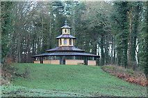 NS2209 : The Pagoda at Culzean Country Park by Billy McCrorie