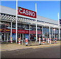 ST1675 : Les Croupiers Casino, Leckwith, Cardiff by Jaggery