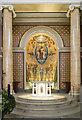 TL8563 : St Edmund, Bury St Edmund - Sanctuary by John Salmon