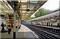 TQ1875 : Richmond station, main Up platform 2011 by Ben Brooksbank