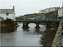 SS2006 : Nanny Moore's bridge, Bude by Richard Law