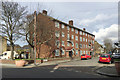TQ3275 : Block of 16 flats, Southwell Road, Camberwell, south London by Robin Stott