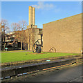 TL4359 : Churchill College: sunlight and shadow by John Sutton