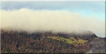 J3279 : Low cloud on the Cave Hill, Belfast (December 2017) by Albert Bridge