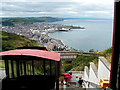 SN5882 : At the top station of Aberystwyth Cliff Railway by John Lucas