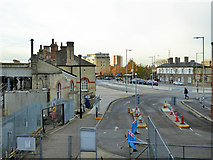 TM1543 : Ipswich station forecourt by Robin Webster