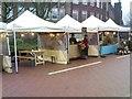 SO9198 : Victorian Market Scene by Gordon Griffiths
