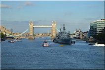 TQ3380 : Tower Bridge and HMS Belfast by N Chadwick