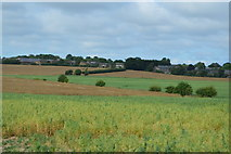 SU8707 : View over the Lavant Valley by N Chadwick