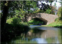 SO8785 : Middle Bridge north-east of Stourton, Staffordshire by Roger  Kidd