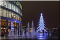 TQ3380 : Christmas on the South Bank by Christine Matthews