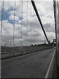 ST5673 : Deck of the Clifton Bridge by Stephen Craven