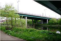 TQ3785 : Bridge carrying A12 across River Lea (or Lee) by David Kemp