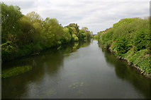 TQ3785 : River Lea (or Lee) seen from Eastway by David Kemp