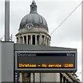 SK5739 : Christmas – No service by Alan Murray-Rust