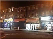 TQ1885 : Shops on Wembley Hill Road by David Howard