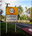 SO3107 : Llanover - Please drive carefully by Jaggery