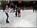 TQ8109 : Ice rink in Queen's Square, Priory Meadow Shopping Centre, Hastings by Patrick Roper