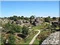 SE2064 : Druid's Castle Rocks, Brimham Rocks by David Tyers