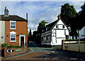 SO8483 : Church Hill in Kinver, Staffordshire by Roger  Kidd