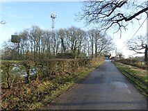 SP0575 : Mobile phone mast, Forhill by Philip Halling