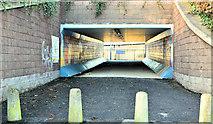 J3574 : Subway, Titanic Quarter station, Belfast (December 2017) by Albert Bridge