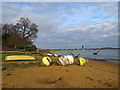 TM2844 : Waldringfield: by the Deben on Christmas Eve by John Sutton