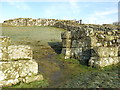 NY7166 : Milecastle 42 (Cawfields) - south gate by Mike Quinn