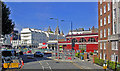 TQ2678 : South Kensington station intersection from Onslow Square, 2009 by Ben Brooksbank