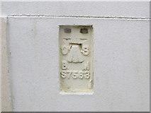 SH3568 : Ordnance Survey Flush Bracket S7563 by Peter Wood