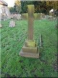 TM3787 : War grave of Thomas Henry Rackham by Helen Steed