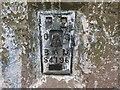 SE1836 : OS Flush Bracket S4196  on Eccleshill Trig Pillar by Stephen Armstrong