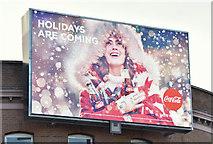 J3373 : Coca-Cola Christmas advertisement, Belfast (December 2017) by Albert Bridge