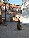 SU6351 : Jane Austen - Basingstoke 'Top of Town' by Sandy B