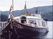 SD3097 : SY Gondola, Coniston Water by Richard Sutcliffe