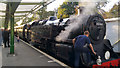 SZ0278 : BR Standard Class 4MT No. 80104 (re-numbered as 80146) - Swanage station, Swanage Railway by Phil Champion