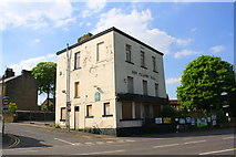 SE1437 : Odd Fellows Hall, Otley Road at Cross Banks junction by Roger Templeman
