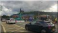 SE0126 : Demolition of shops on Burnley Road, Mytholmroyd by Phil Champion