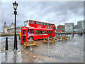 SJ3489 : Routemaster Diner on Hartley Quay by David Dixon