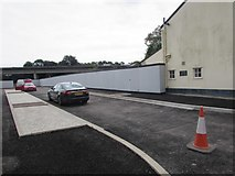 ST5394 : Dead-end road on the east side of Lower Church Street, Chepstow by Jaggery
